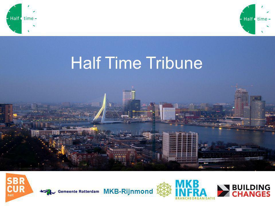 Convenant Rotterdam MKB-Rijnmond Half Time Tribune