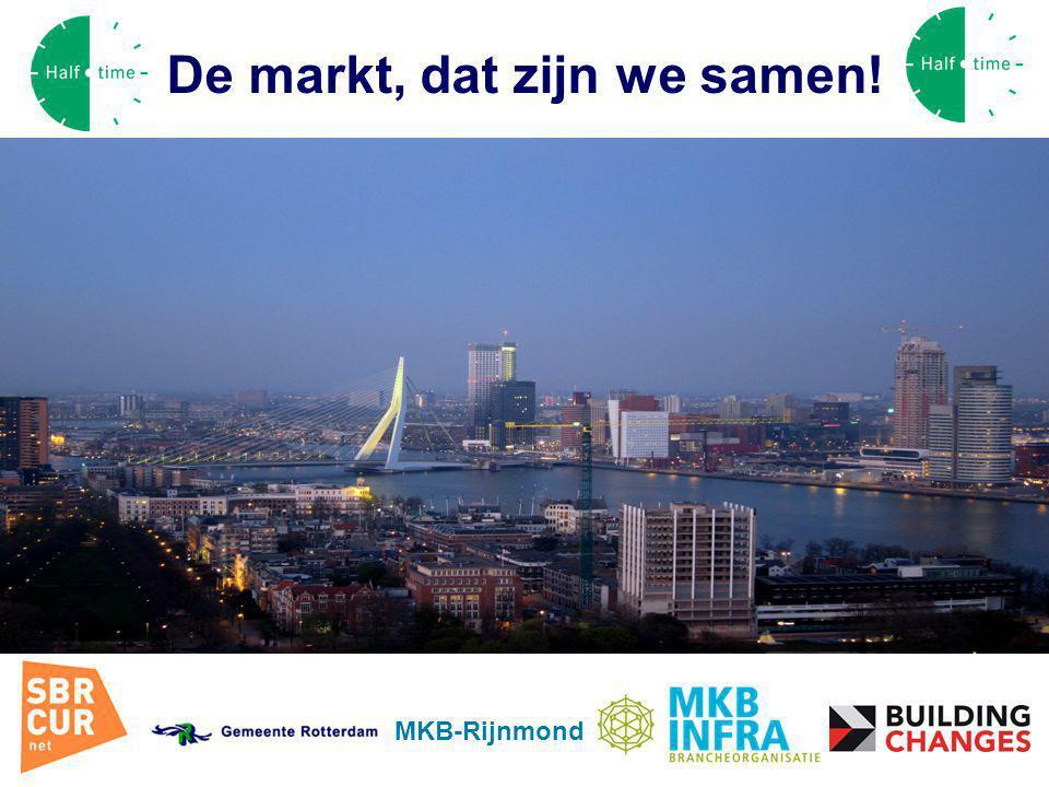 Convenant Rotterdam MKB-Rijnmond De markt, dat zijn we samen!