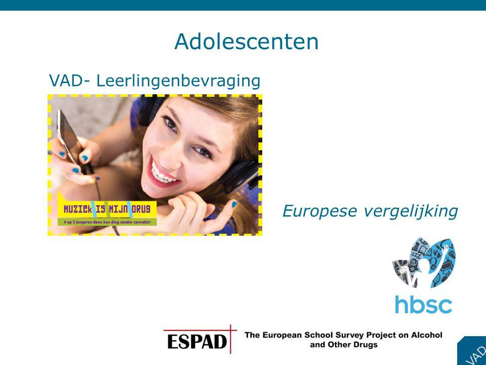 Adolescenten Europese vergelijking VAD- Leerlingenbevraging