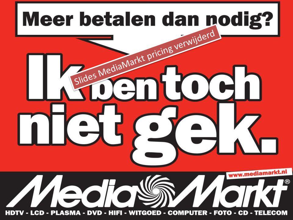 Slides MediaMarkt pricing verwijderd