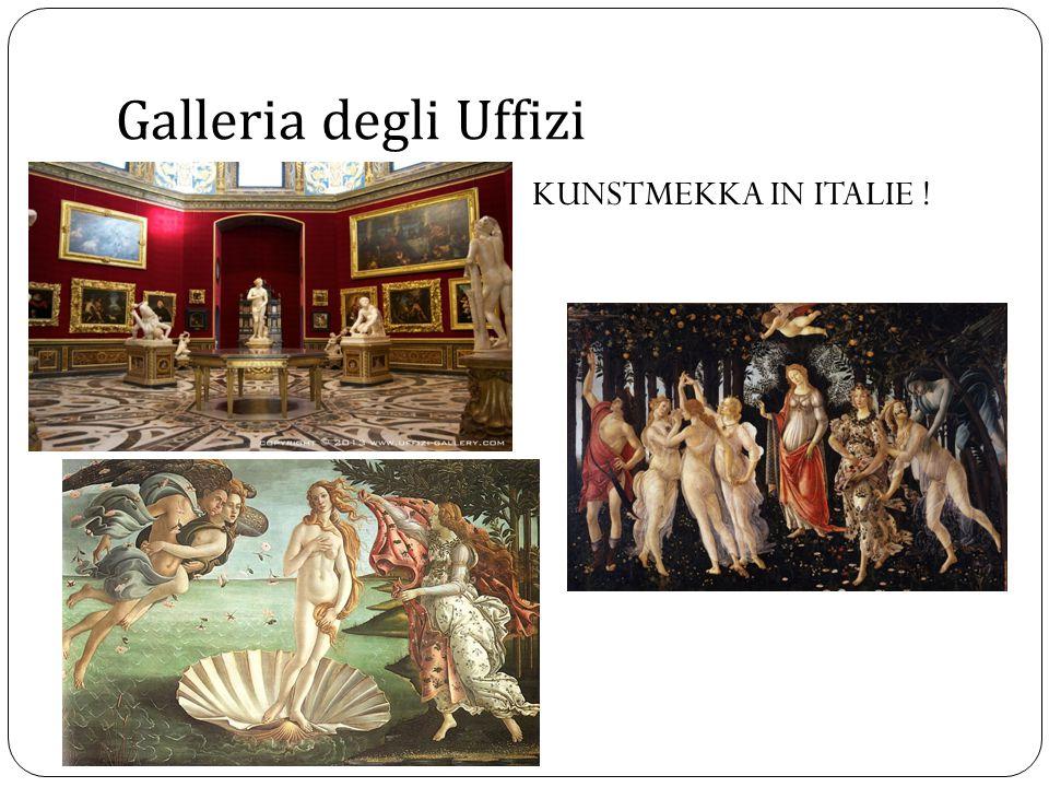 Galleria degli Uffizi KUNSTMEKKA IN ITALIE !