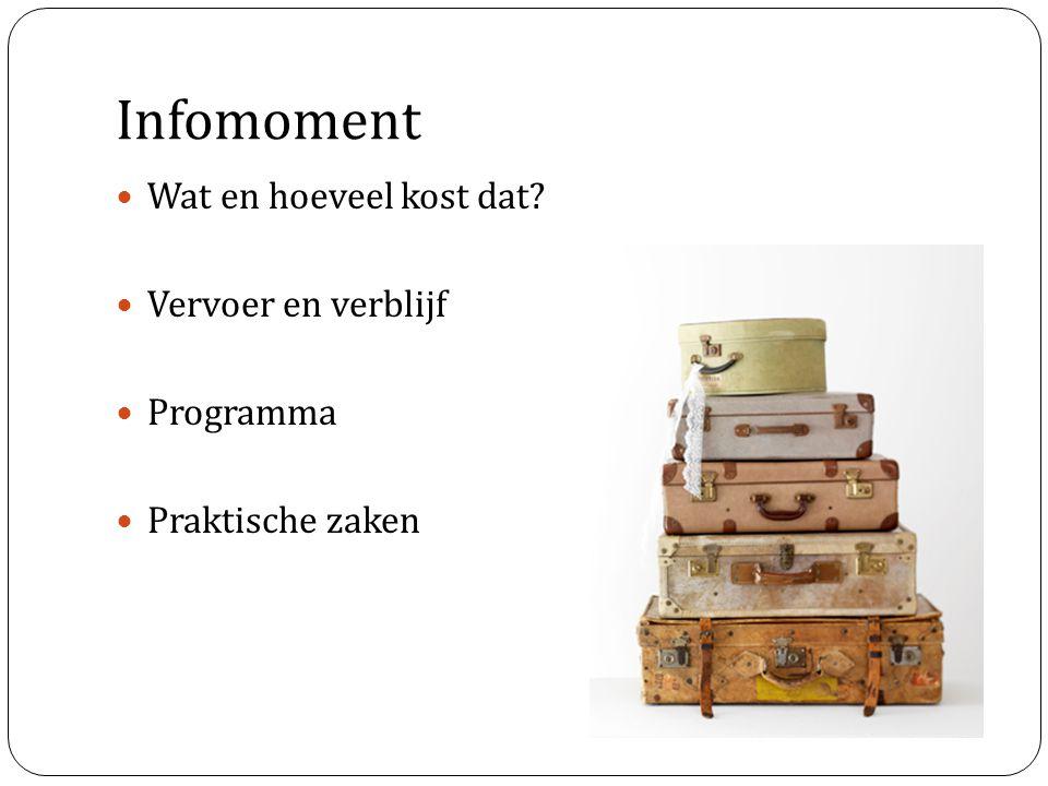 Praktische informatie Vlucht = inclusief ruimbagage (23 kg) Verzekering via KK -> lid zijn is verplicht .