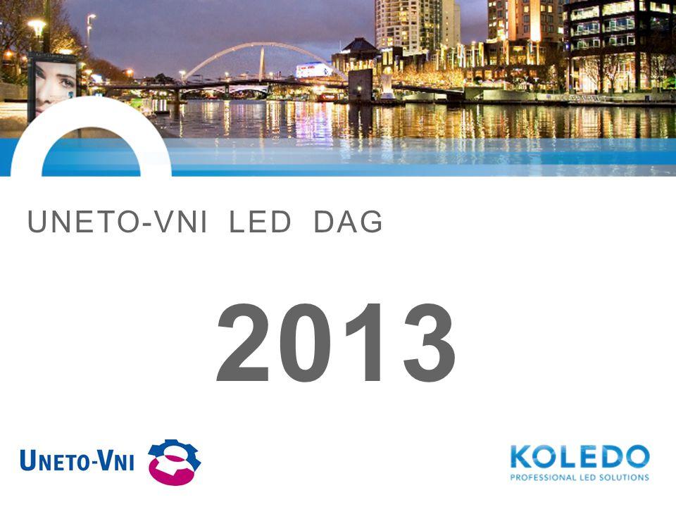 INTRODUCTIE KOLEDO INTERNATIONAL BEGIN 2010 Philips heeft besloten de produktie en distributie van LED verlichting voor de lichtreclame markt uit te besteden JUNI 2010 Koledo tekent exclusief contract om de wereldwijde lichtreclame markt voor Philips LED verlichting te continueren DECEMBER 2010 De volledige overgang naar Koledo is een feit.