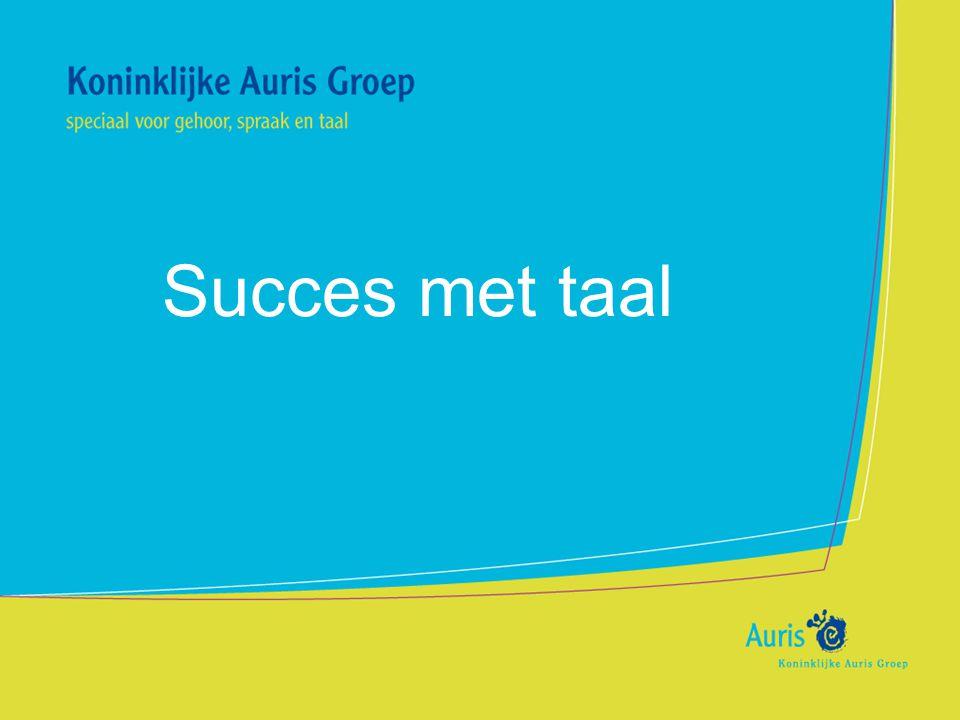 Succes met taal