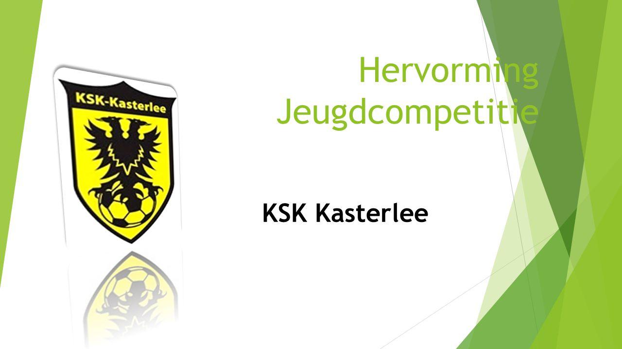 3.6 Sleutel 6 Hervorming Jeugdcompetitie - KSK Kasterlee 28 Minstens 50% speeltijd bij 11v11 (t.e.m.