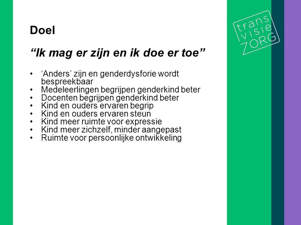 De titel van de presentatie 7/10 Praktijkvoorbeeld op school In 2005 geconfronteerd met aanmelding van een leerling met genderdysfore gevoelens.