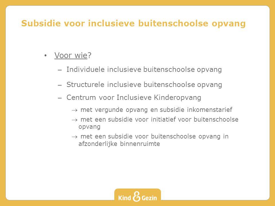 Voor wie? – Individuele inclusieve buitenschoolse opvang – Structurele inclusieve buitenschoolse opvang – Centrum voor Inclusieve Kinderopvang  met v