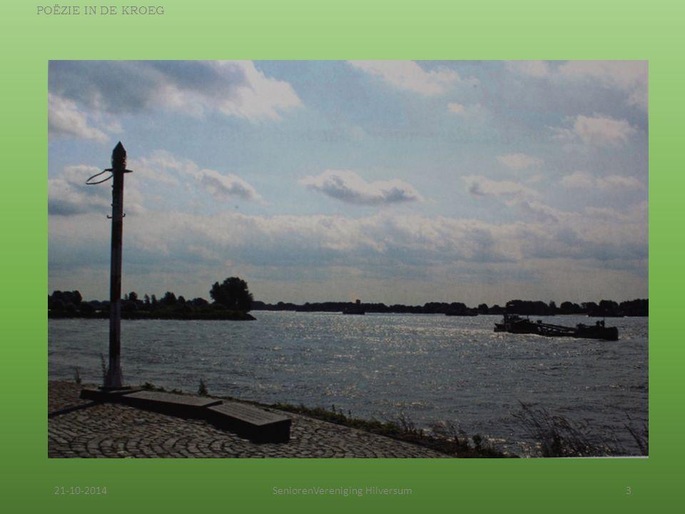 21-10-2014SeniorenVereniging Hilversum3 POËZIE IN DE KROEG