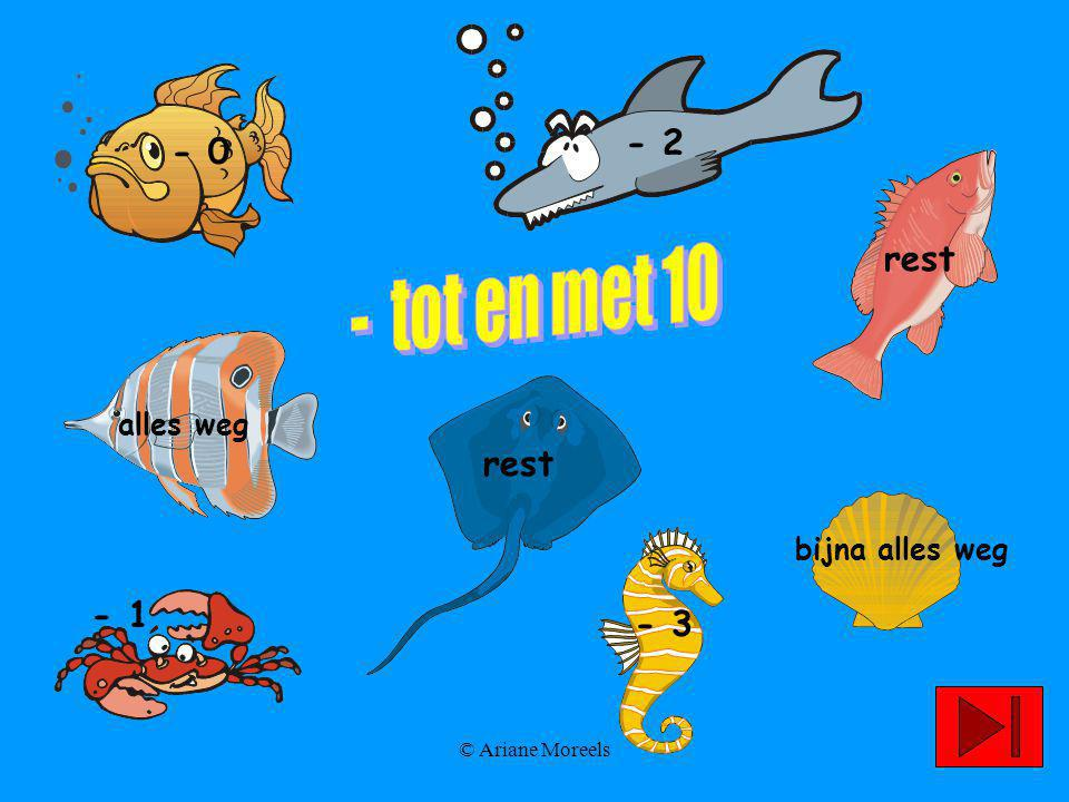 © Ariane Moreels 9 - 1 = … 8 10 9 07896123450