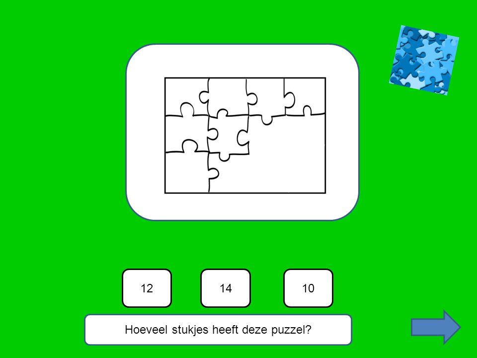 Hoeveel stukjes heeft deze puzzel? 101214