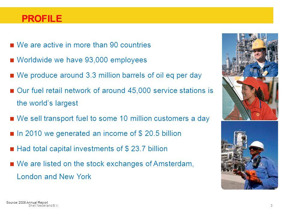 Shell Nederland B.V.14 Samenvatting van de belangrijkste punten Een bedrijf dat wil voortbestaan moet een goede veiligheidsprestatie hebben.
