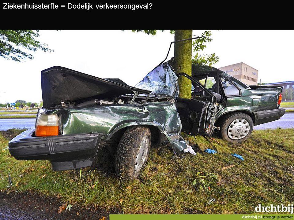Ziekenhuissterfte = Dodelijk verkeersongeval?