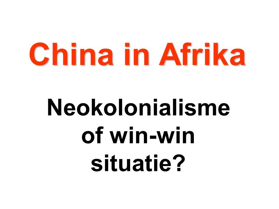 1.Hoe belangrijk is Afrika voor het Westen en voor China.