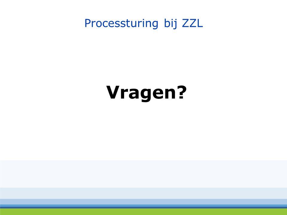 Processturing bij ZZL Vragen?
