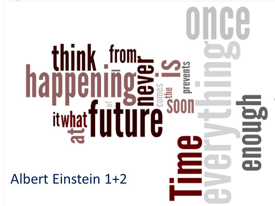 Albert Einstein 1+2