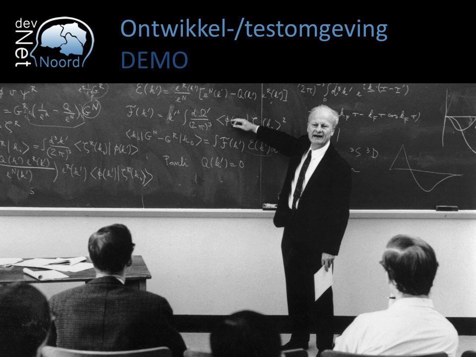 Ontwikkel-/testomgeving DEMO