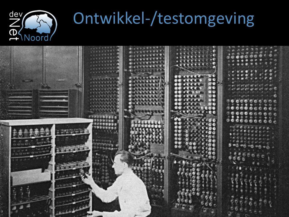 Ontwikkel-/testomgeving