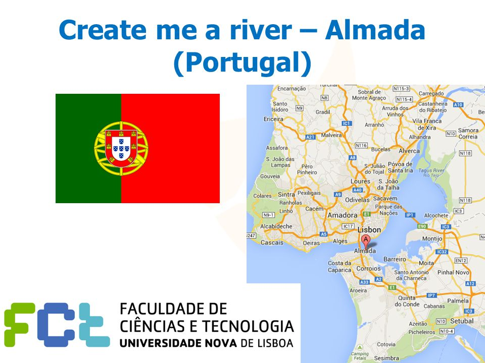 Create me a river – Almada (Portugal)
