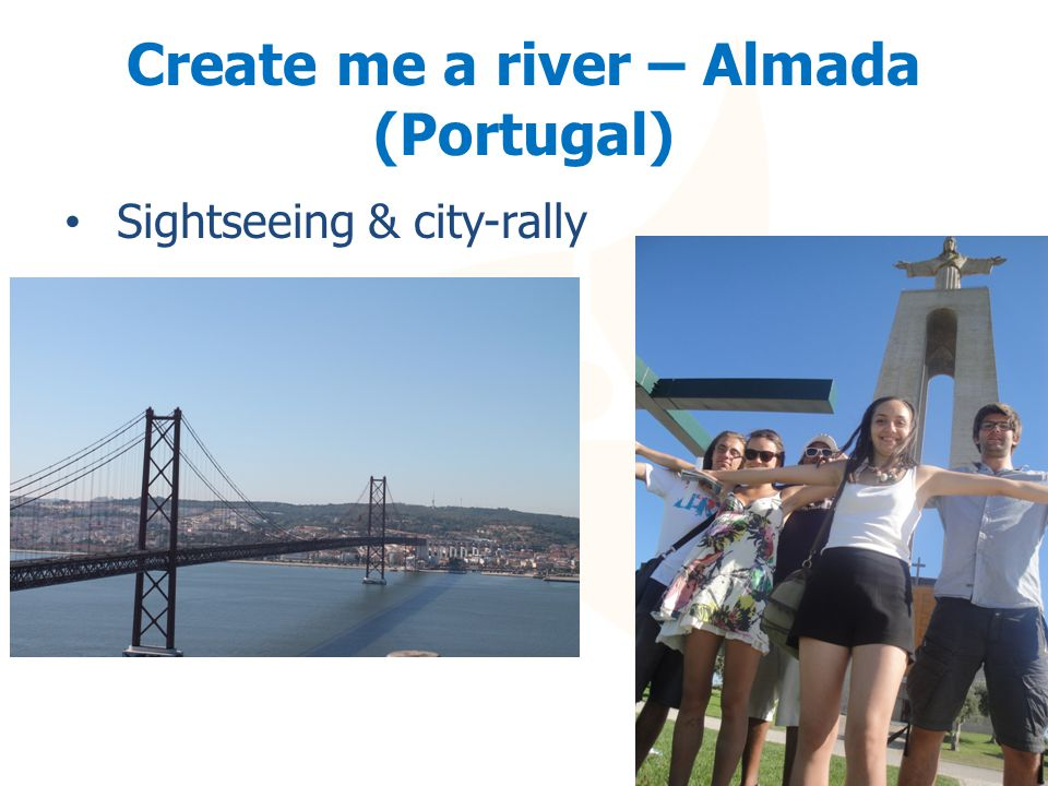 Create me a river – Almada (Portugal) Sightseeing & city-rally