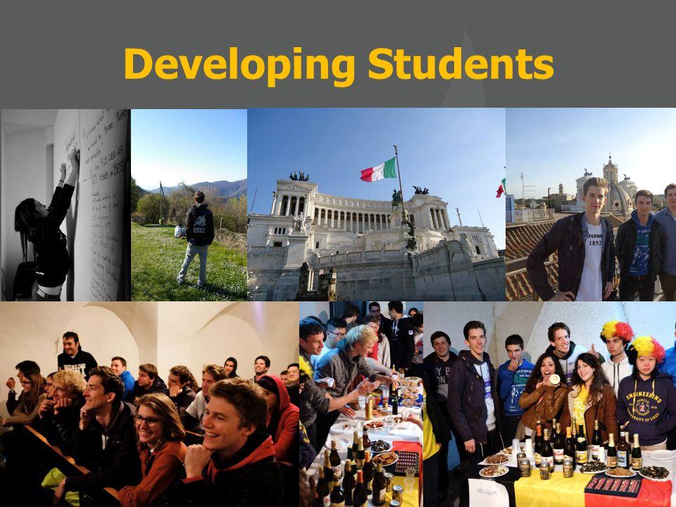 General Assembly Bucharest: April 2014 (Universitatea Politehnica din Bucuresti, Romenia) Developing Students