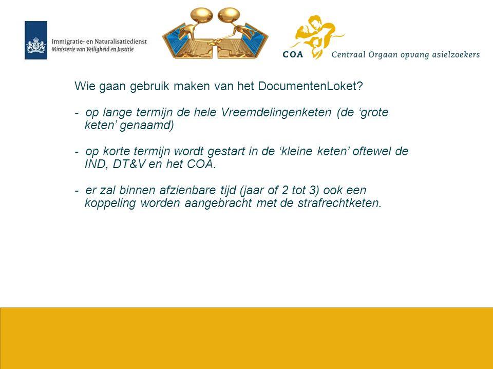 17 Hoe werkt het DocumentenLoket bekeken vanuit het COA.
