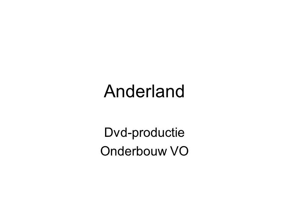 Anderland Dvd-productie Onderbouw VO