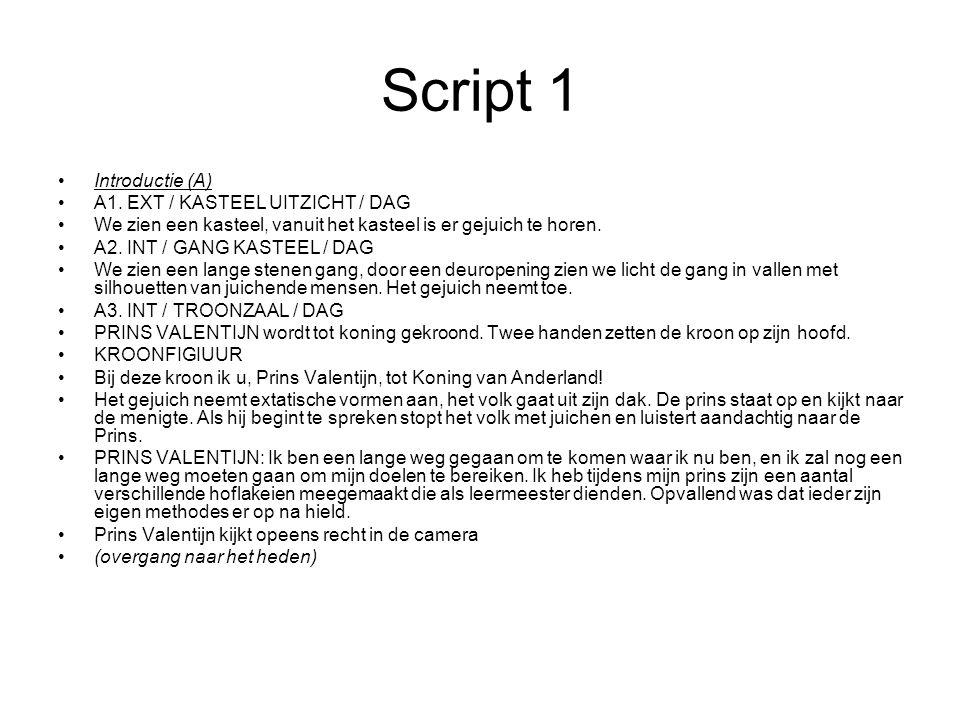 Script 1 Introductie (A) A1.