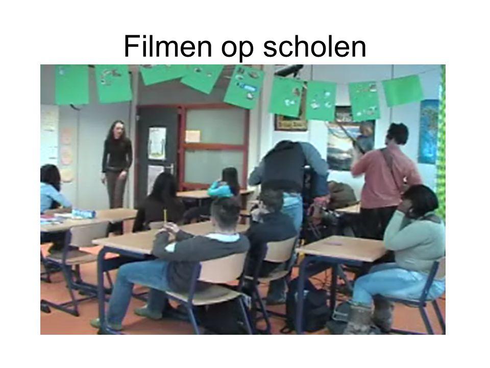 Filmen op scholen