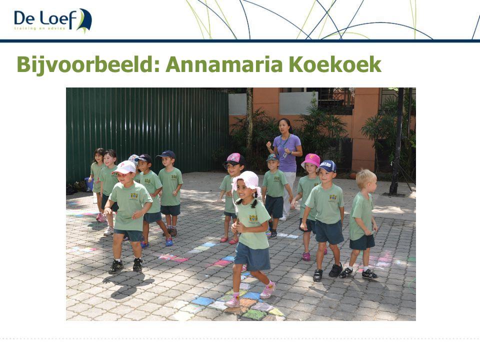 Bijvoorbeeld: Annamaria Koekoek