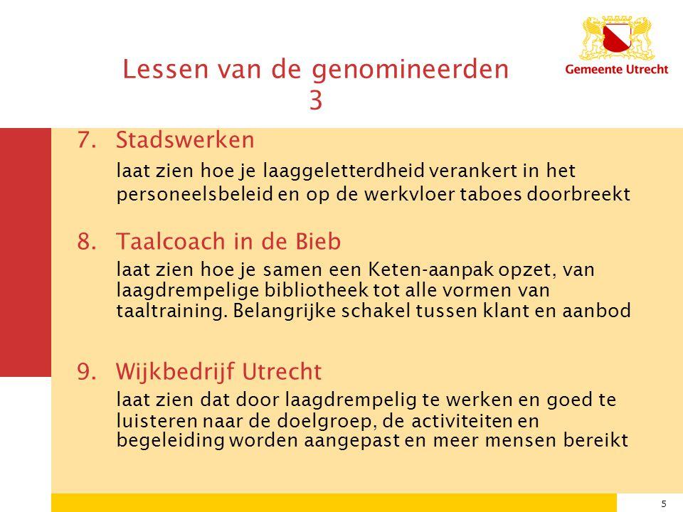 6 3 kandidaten AxionContinu Taalcoach in de Bieb Wijkbedrijf Utrecht