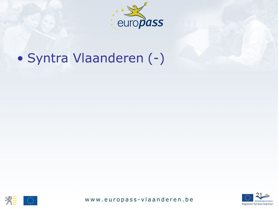 21 Syntra Vlaanderen (-)
