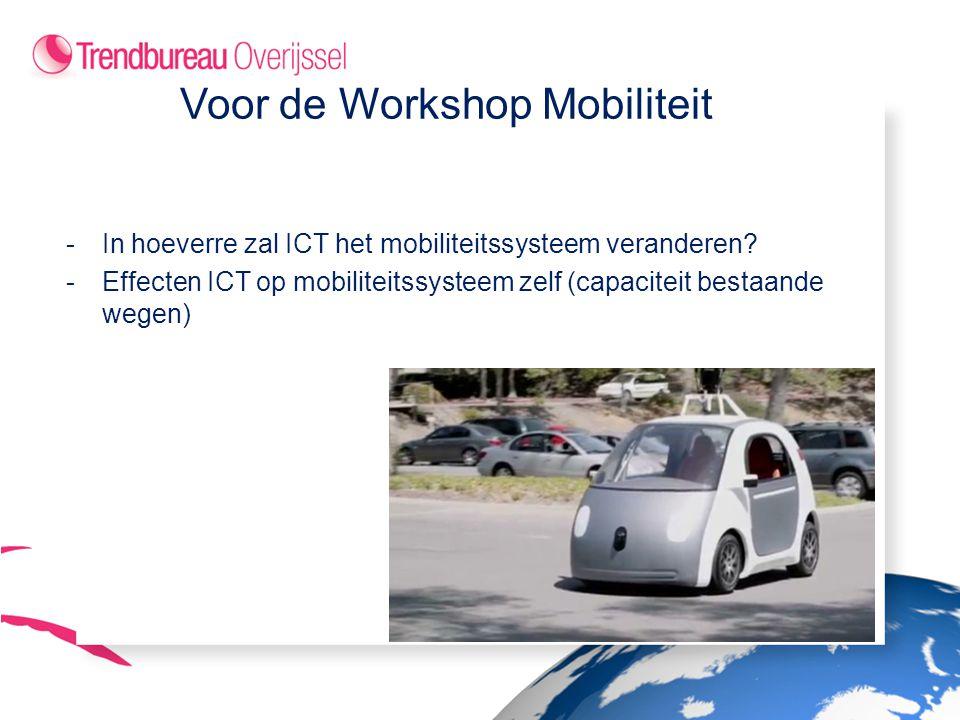-In hoeverre zal ICT het mobiliteitssysteem veranderen.
