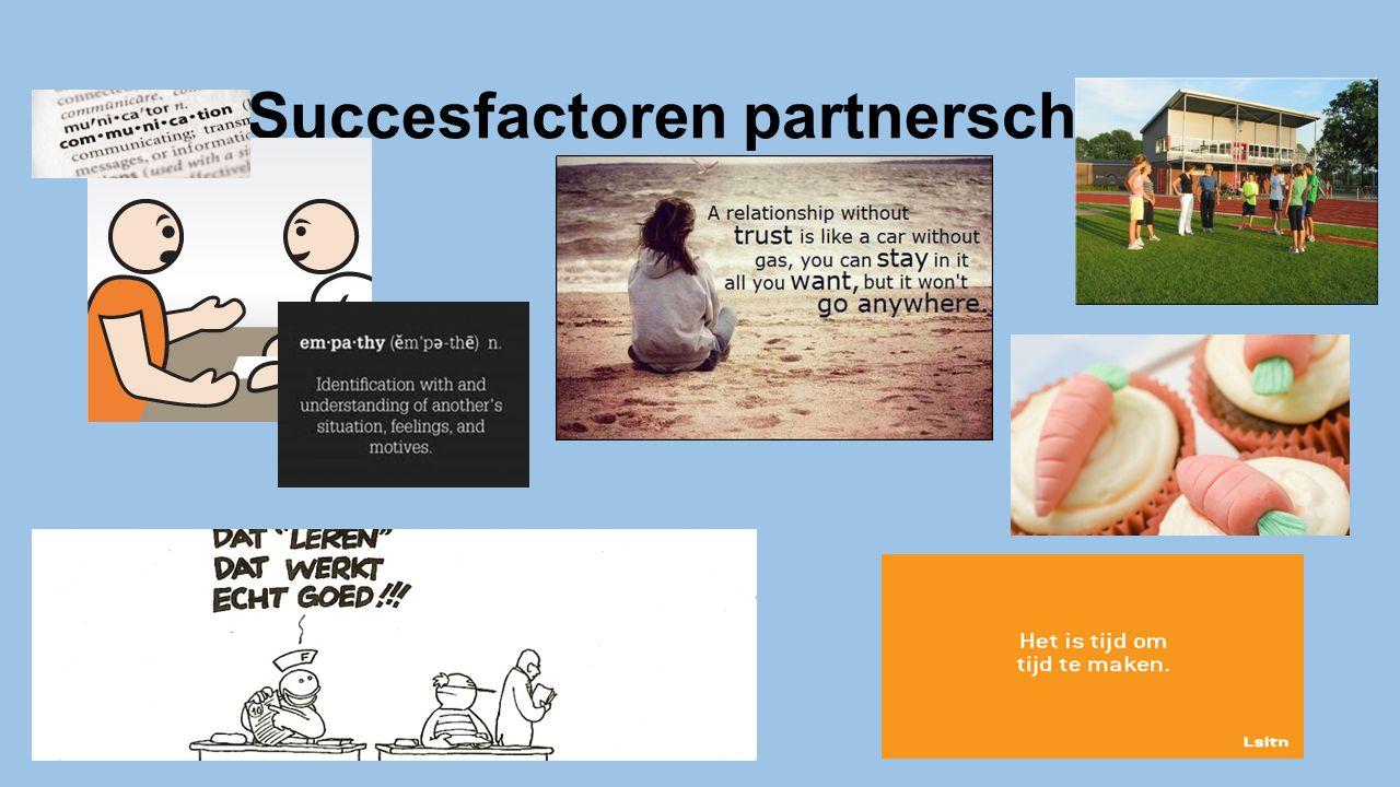 Succesfactoren partnerschap