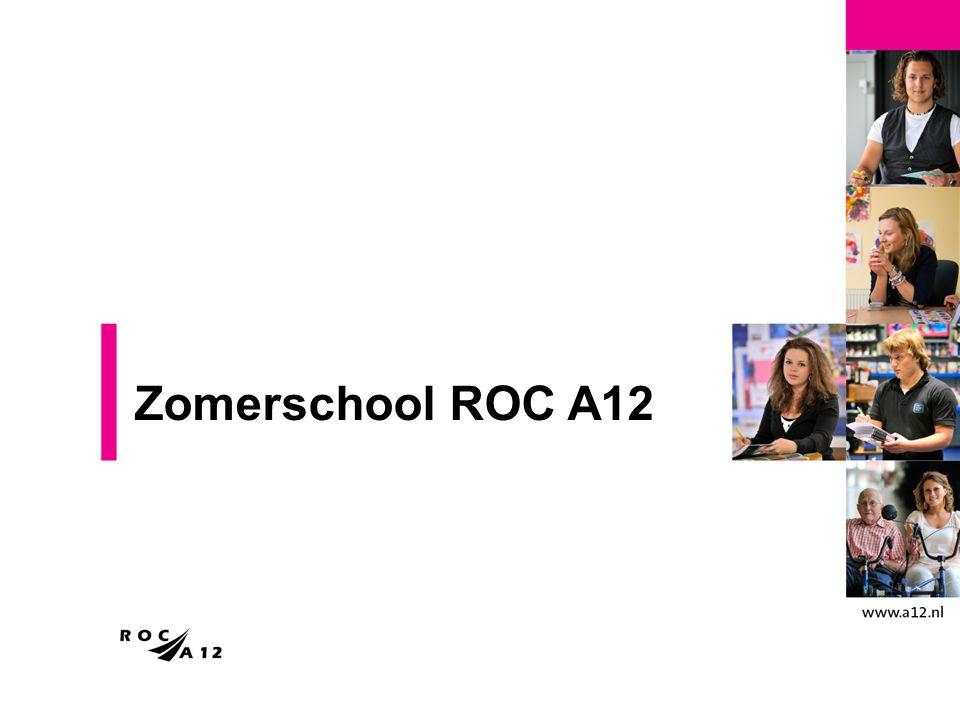 Zomerschool ROC A12