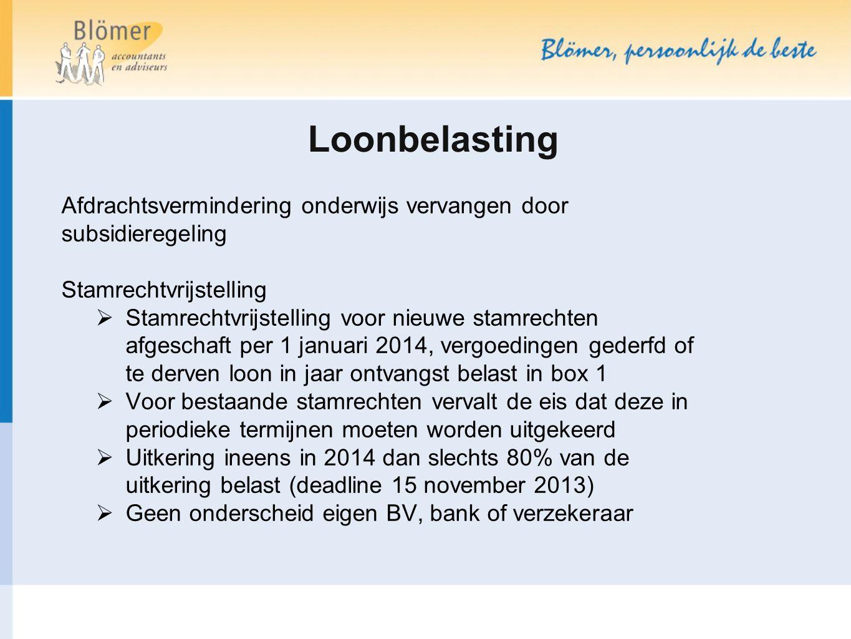 Verklaring arbeidsrelatie  Stand van zaken opvolger VAR: aangekondigde webmodule uitgesteld tot 2015  Beleid 2014 was nog onduidelijk.