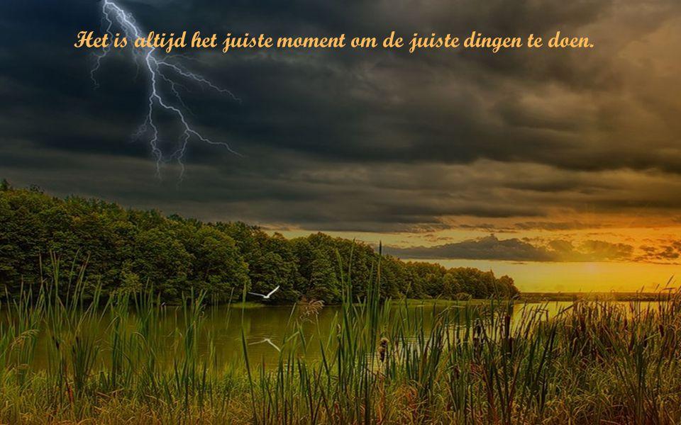 Het leven is als een regenboog: Je hebt de zon én de regen nodig om de kleuren te kunnen zien.