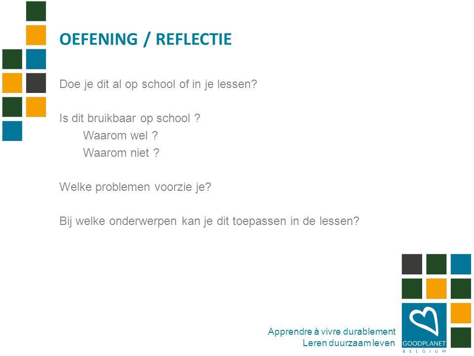 ROL VAN EDUCATIE III. SYSTEEMVERANDERING