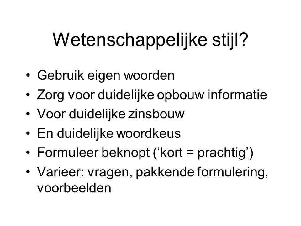Kabos-van der Vliet Redactiebureau Helder en duidelijk.