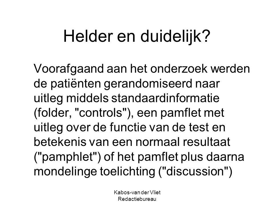 Kabos-van der Vliet Redactiebureau Nederlandse of klassieke spelling.