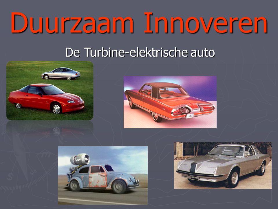 Duurzaam Innoveren De Turbine-elektrische auto