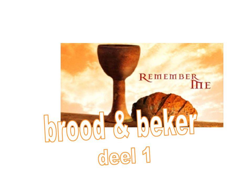 instelling van het avondmaal 26 En terwijl zij aten, nam Jezus een brood, sprak de zegen uit, brak het en gaf het aan zijn discipelen en zeide: Neemt, eet, dit is mijn lichaam.