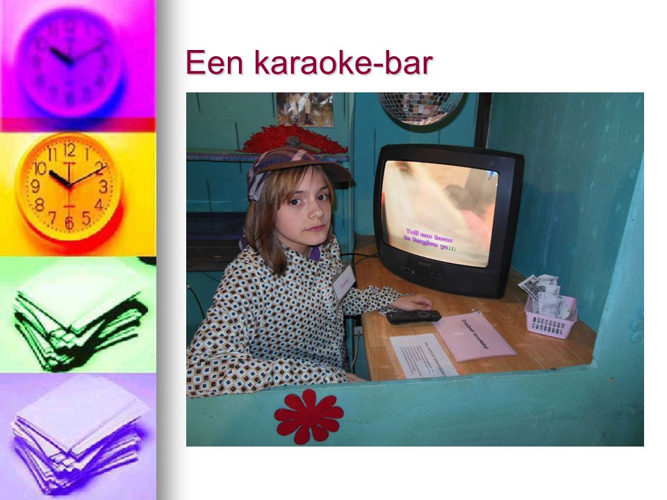Een karaoke-bar