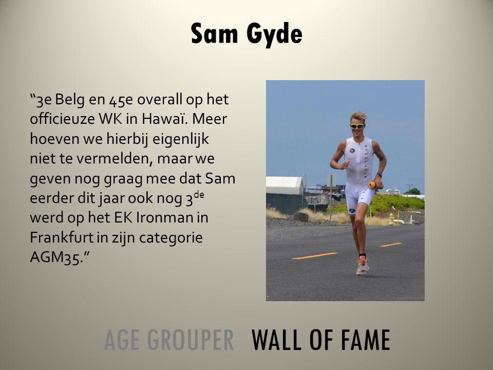 3e Belg en 45e overall op het officieuze WK in Hawaï.