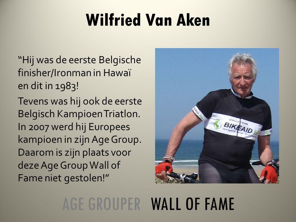 Hij was de eerste Belgische finisher/Ironman in Hawaï en dit in 1983.