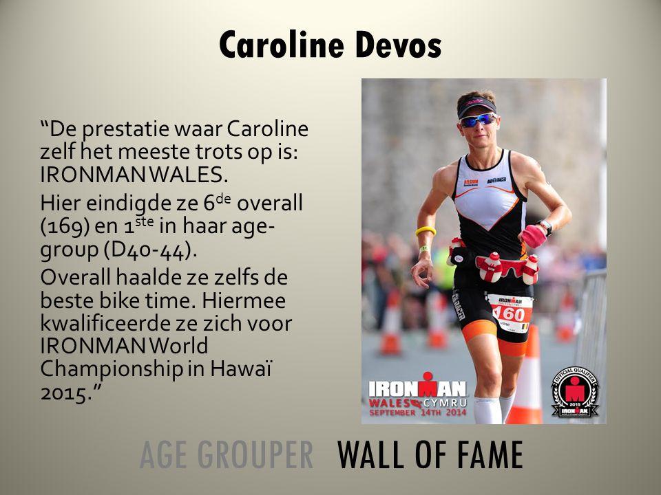 De prestatie waar Caroline zelf het meeste trots op is: IRONMAN WALES.