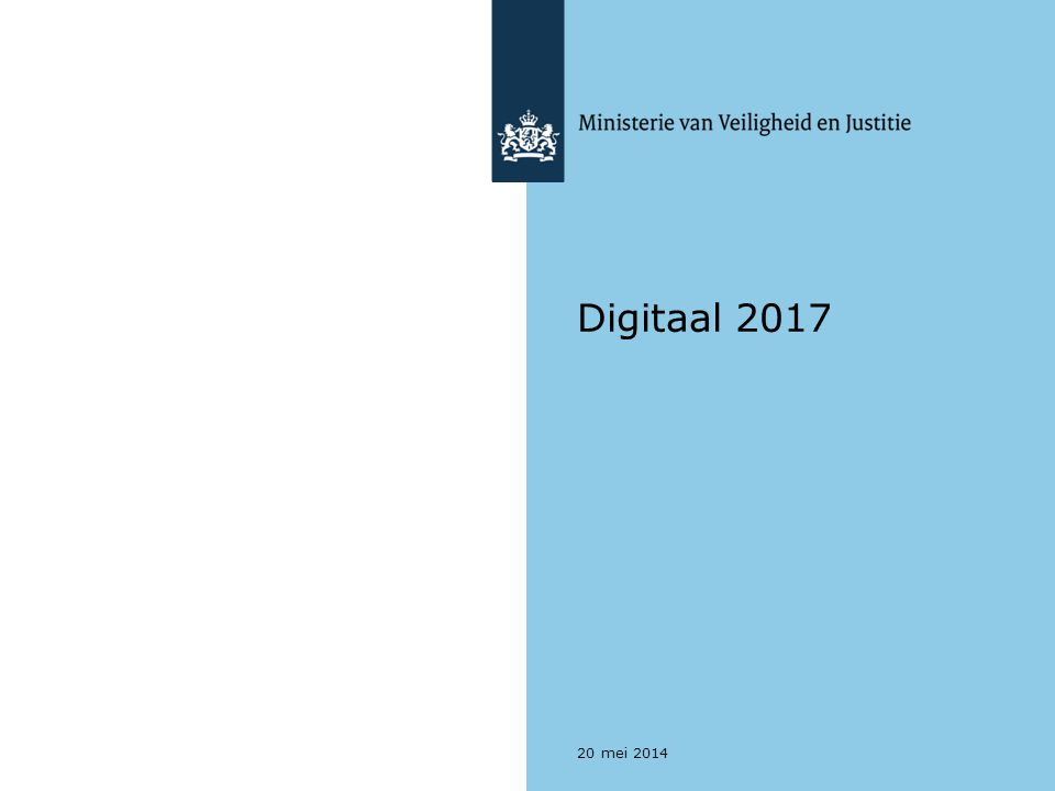 Digitaal 2017 20 mei 2014