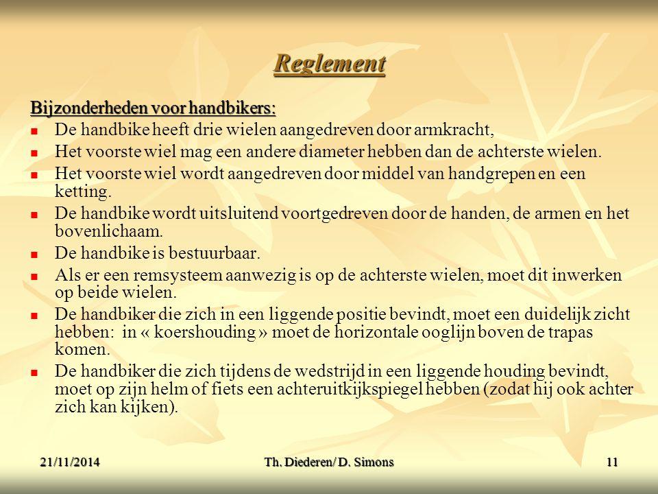 21/11/2014Th.Diederen/ D.