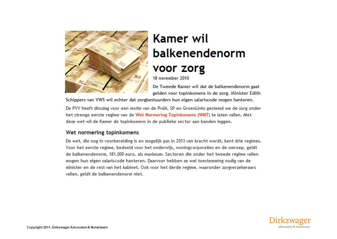 Copyright 2011. Dirkzwager Advocaten & Notarissen