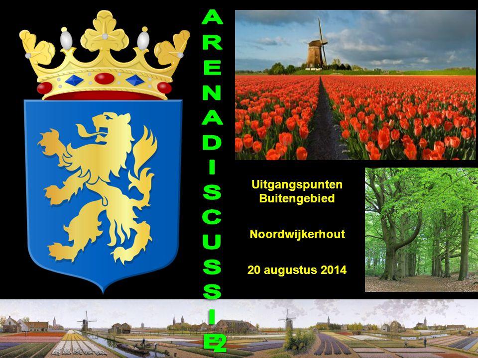 Uitgangspunten Buitengebied Noordwijkerhout 20 augustus 2014