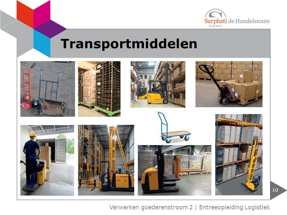 10 Verwerken goederenstroom 2 | Entreeopleiding Logistiek Transportmiddelen